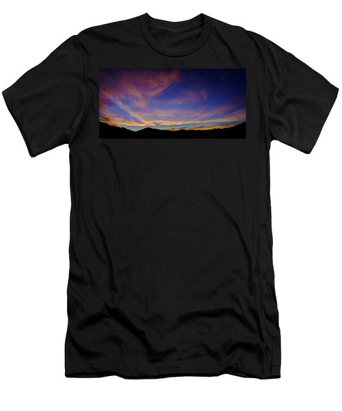 Sunrise Over Canyon Hills Men's T-Shirt (Athletic Fit)