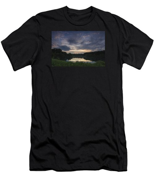 Sunrise Over Indigo Lake Men's T-Shirt (Athletic Fit)