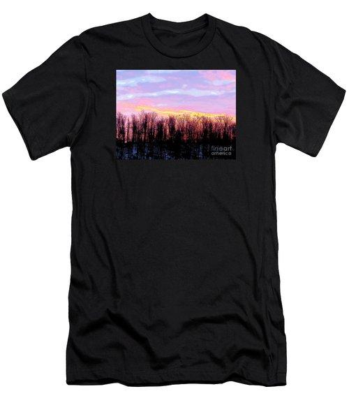 Sunrise Over Lake Men's T-Shirt (Slim Fit) by Craig Walters