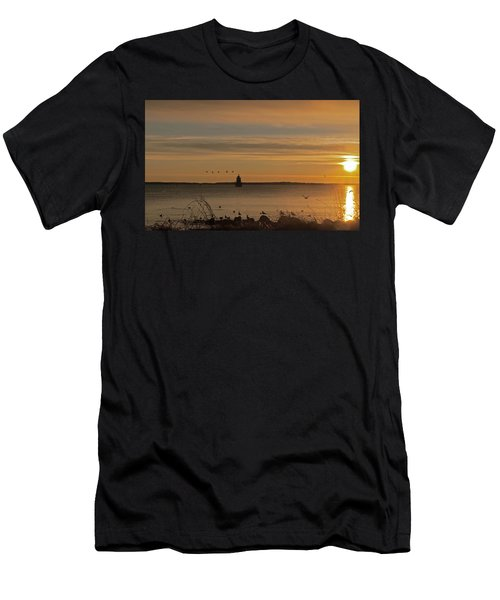 Sunrise Over New Bedford Men's T-Shirt (Athletic Fit)