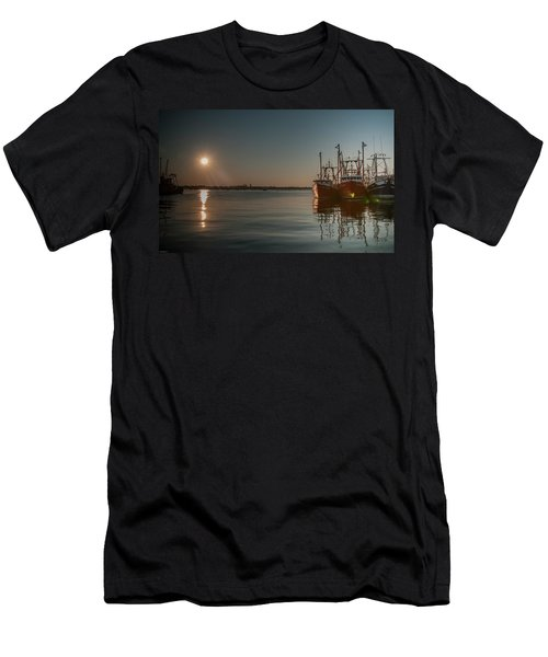Sunrise Over New Bedford, Men's T-Shirt (Athletic Fit)