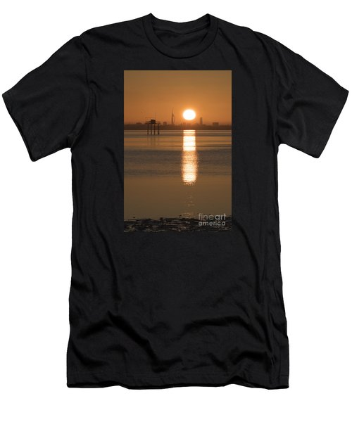 Sunrise Over Portsmouth Men's T-Shirt (Athletic Fit)