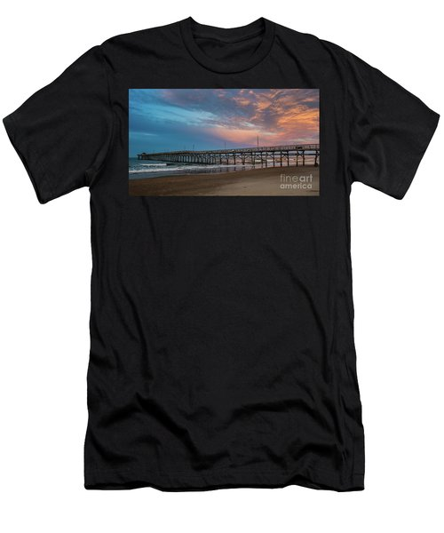 Sunset Over The Atlantic Men's T-Shirt (Athletic Fit)