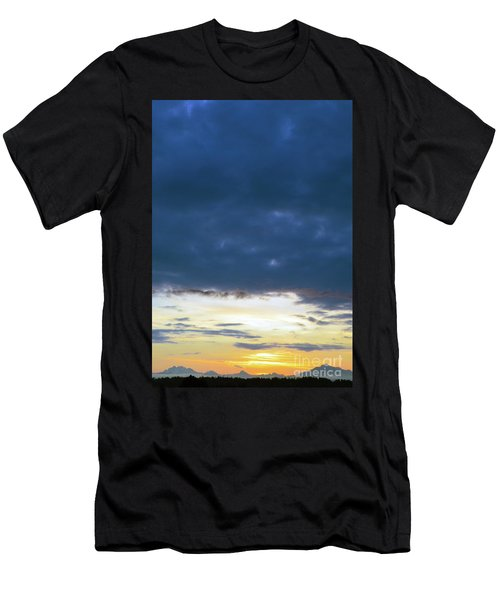 Sunrise Over The Cascades Men's T-Shirt (Athletic Fit)