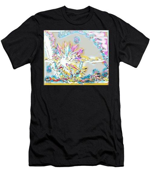 Sunrise Over The City Men's T-Shirt (Athletic Fit)
