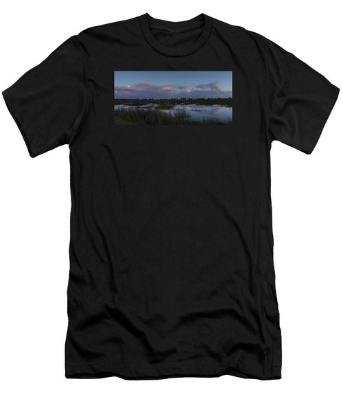 Sunrise Over The Wetlands Men's T-Shirt (Athletic Fit)