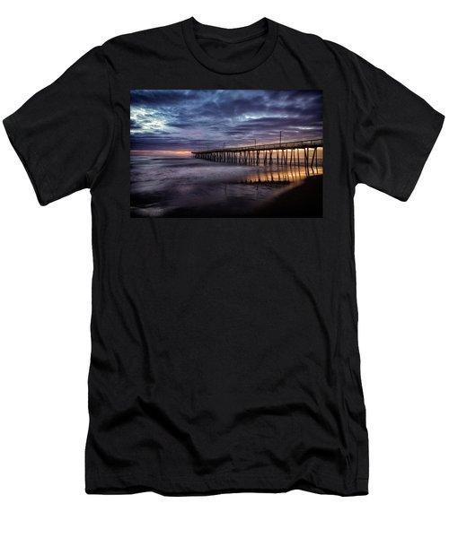 Sunrise Pier Men's T-Shirt (Athletic Fit)