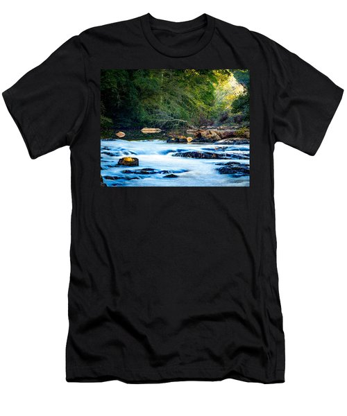 Sunrise River Men's T-Shirt (Athletic Fit)