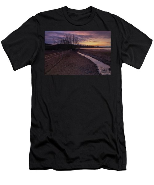 Sunrise, Rutland Water Men's T-Shirt (Athletic Fit)