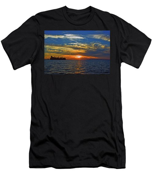 Sunrise Sail Men's T-Shirt (Athletic Fit)