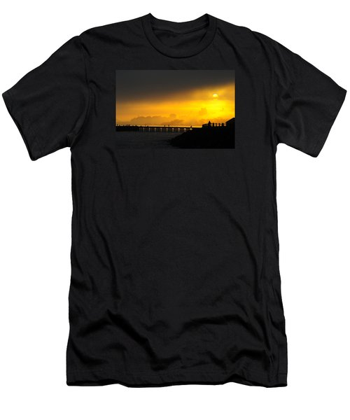 Men's T-Shirt (Athletic Fit) featuring the photograph Sunrise San Francisco by Steve Siri