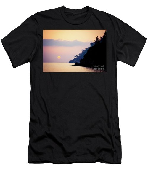 Sunrise Sea Rythm  Men's T-Shirt (Athletic Fit)