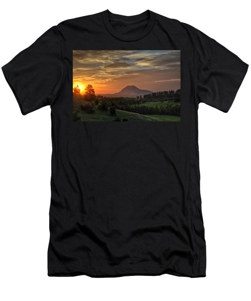 Sunrise Serenity  Men's T-Shirt (Athletic Fit)