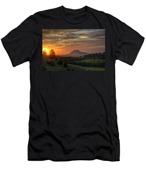 Sunrise Serenity  Men's T-Shirt (Athletic Fit)