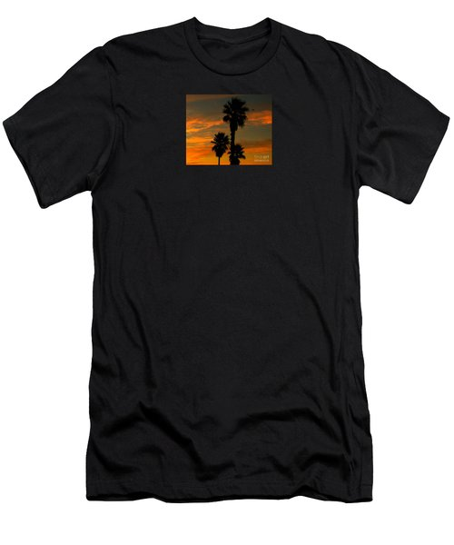 Sunrise Silhouettes Men's T-Shirt (Slim Fit)