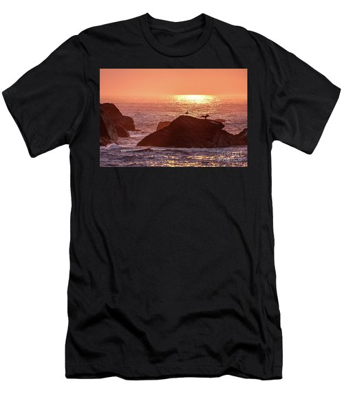Sunrise, South Shore Men's T-Shirt (Athletic Fit)