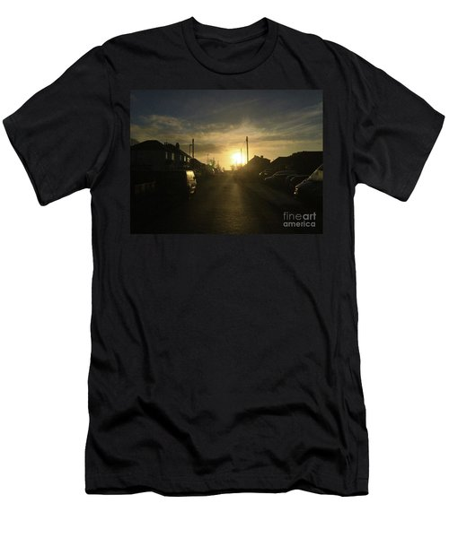 Sunrise Street Men's T-Shirt (Athletic Fit)