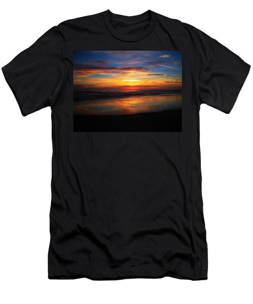 Sunrise Sunset  Full Men's T-Shirt (Athletic Fit)
