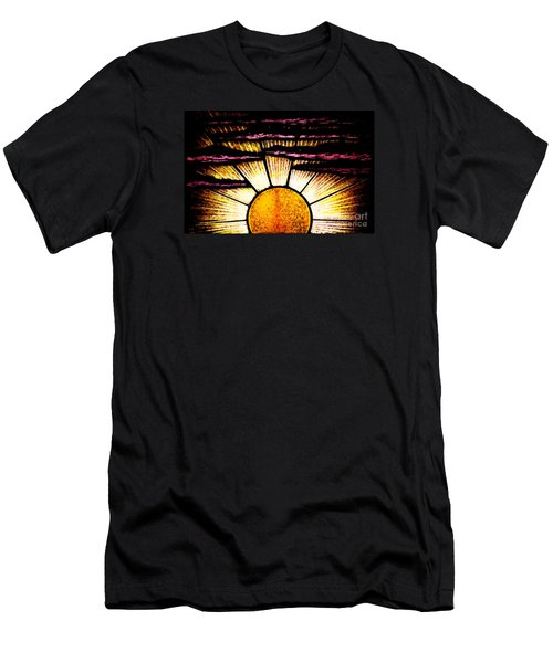 Men's T-Shirt (Athletic Fit) featuring the photograph Sunrise Sunset by Linda Shafer