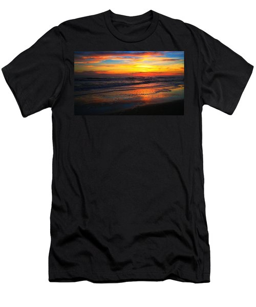 Sunrise Sunset Men's T-Shirt (Athletic Fit)