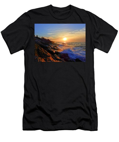 Sunrise Surf Men's T-Shirt (Athletic Fit)