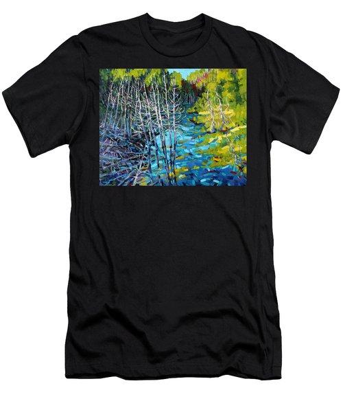 Sunrise Swamp Men's T-Shirt (Athletic Fit)