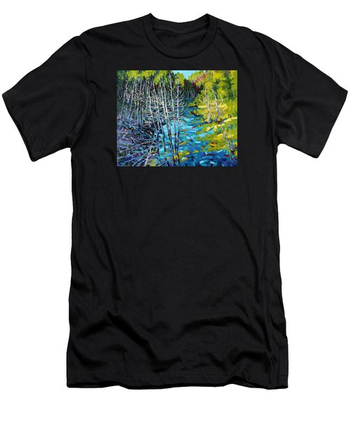 Sunrise Swamp Men's T-Shirt (Athletic Fit)
