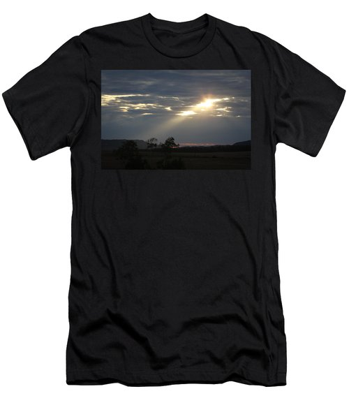 Suns Ray Men's T-Shirt (Athletic Fit)