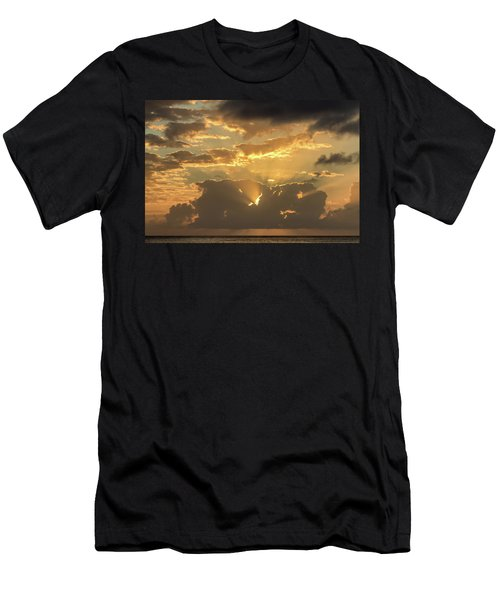 Sun's Rays Men's T-Shirt (Athletic Fit)