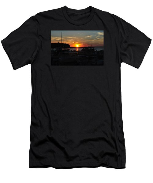 Harbor In Ephraim Men's T-Shirt (Athletic Fit)