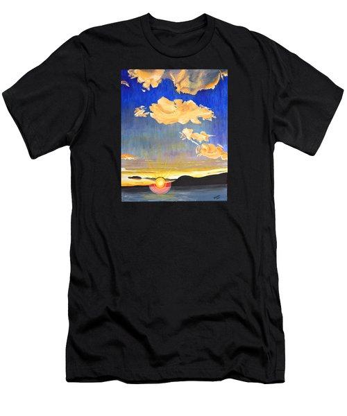 Sunset #6 Men's T-Shirt (Athletic Fit)