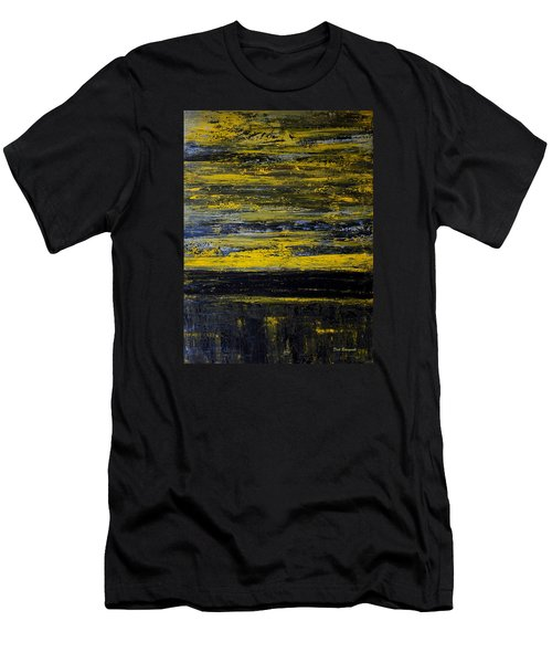 Sunset Abstract Men's T-Shirt (Athletic Fit)