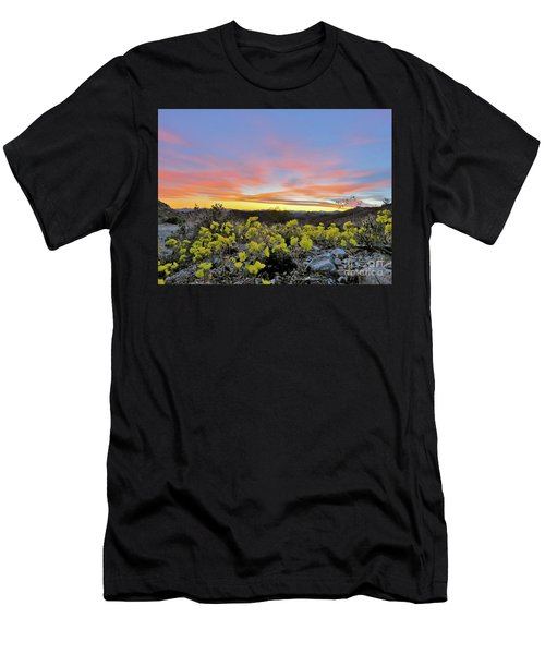 Sunset And Primrose Men's T-Shirt (Athletic Fit)