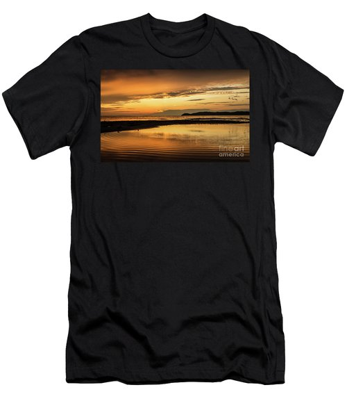 Sunset And Reflection Men's T-Shirt (Athletic Fit)