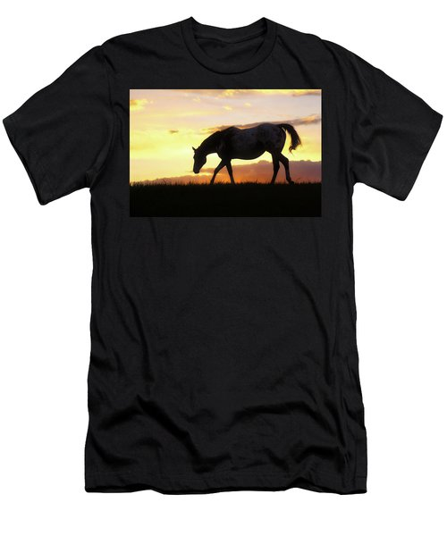 Sunset Appy Men's T-Shirt (Athletic Fit)