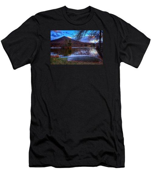 Sunset At Abbott Lake Men's T-Shirt (Athletic Fit)