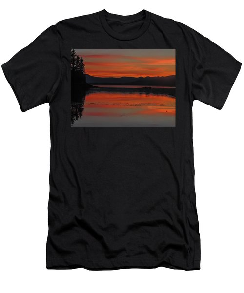 Sunset At Brothers Islands Men's T-Shirt (Athletic Fit)