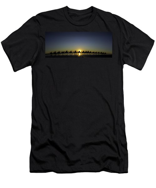 Men's T-Shirt (Athletic Fit) featuring the photograph Sunset At Cable Beach by Chris Cousins