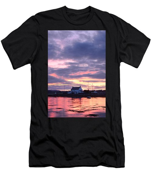 Sunset At Clachnaharry Men's T-Shirt (Athletic Fit)