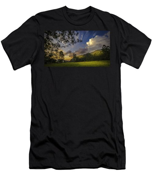 Sunset At Cocora Men's T-Shirt (Athletic Fit)