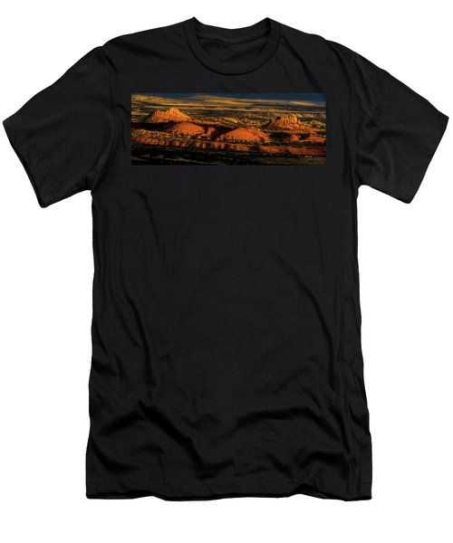Sunset At Donkey Flats Men's T-Shirt (Athletic Fit)