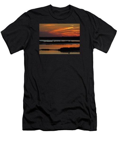 Sunset At Forsythe Reserve 2 Men's T-Shirt (Athletic Fit)
