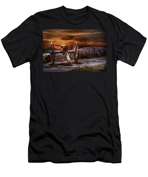 Sunset At Gettysburg Men's T-Shirt (Athletic Fit)