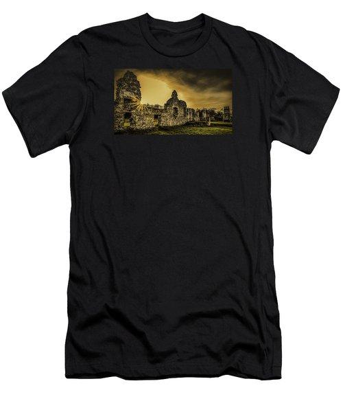 Sunset At Grace Dieu Men's T-Shirt (Athletic Fit)