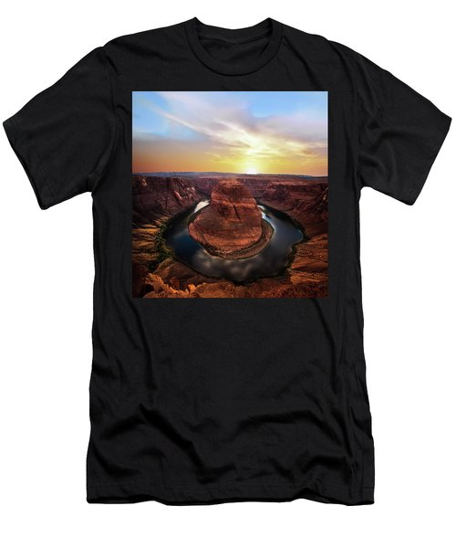 Sunset At Horseshoe Bend Men's T-Shirt (Athletic Fit)