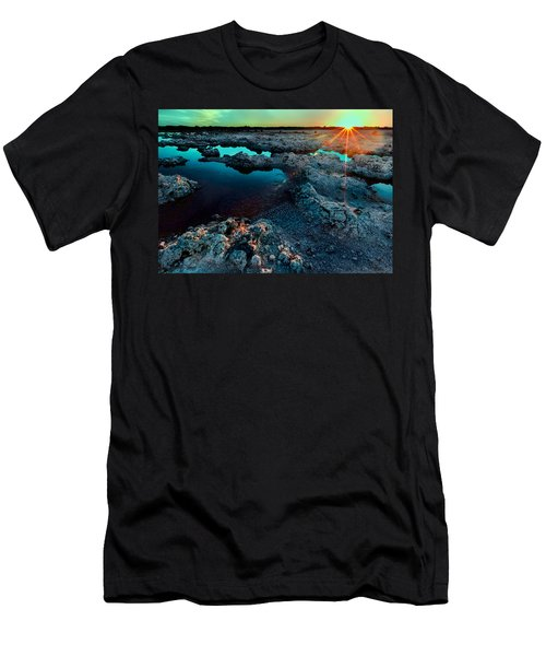 Men's T-Shirt (Athletic Fit) featuring the photograph Sunset At Lake Walyungup by Julian Cook