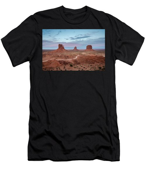 Sunset At Monument Valley No.1 Men's T-Shirt (Athletic Fit)