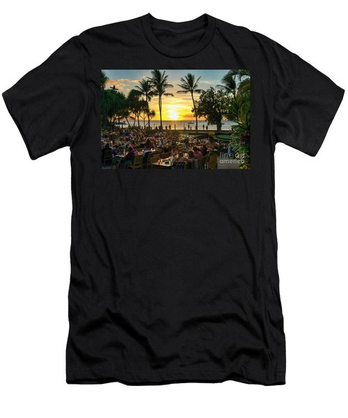 Sunset At Old Lahaina Luau #1 Men's T-Shirt (Athletic Fit)
