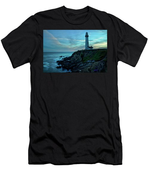 Sunset At Pigeon Point Men's T-Shirt (Athletic Fit)