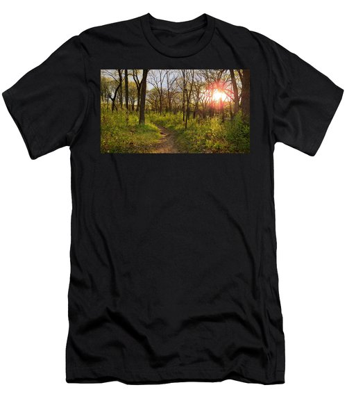 Sunset At Scuppernong Men's T-Shirt (Athletic Fit)